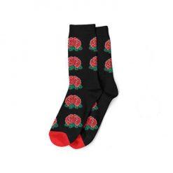 جوراب مُدا ساکس طرح گل سرخ