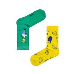 جوراب ساقدار آپتیمیست طرح سیمپسون لنگه به لنگه