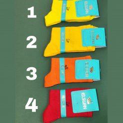 جوراب ساقدار ال سوان سری رنگی در 16 رنگ