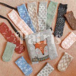 جوراب ساقدار پاتریس سری حوله ای در 8 رنگ و طرح مختلف