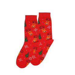 جوراب ساقدار پاتریس سری کریسمس طرح گوزن کریسمس