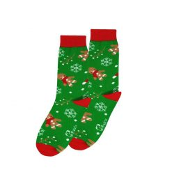 جوراب ساقدار پاتریس سری کریسمس طرح کوکی