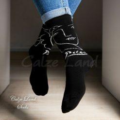 جوراب ساقدار کالزی لند طرح پیکاسو