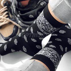جوراب ساقدار آپتیمیست طرح باندانا