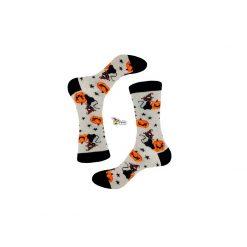 جوراب ساقدار پاتریس سری هالوین طرح گربه